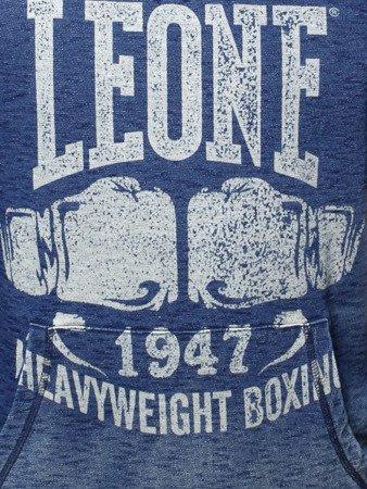 """LEONE - MIKINY """"Jeans"""" S [LSM1525_niebieska]"""