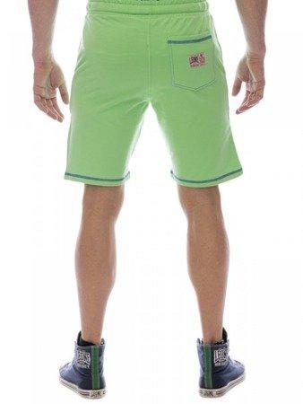 LEONE zelené bermudy pro muže M [LSM1661]