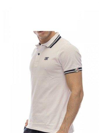 Tričko LEONE Polo bílé M [LSM1725]